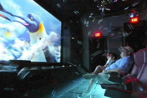 Penguins go 4-D