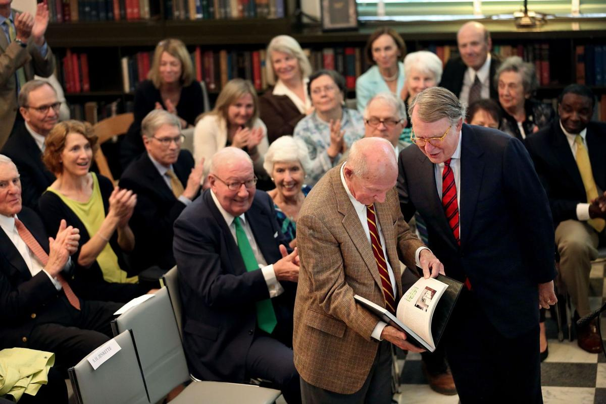 Charleston Library Society honors Wall Street tycoon who helped put Charleston on the map