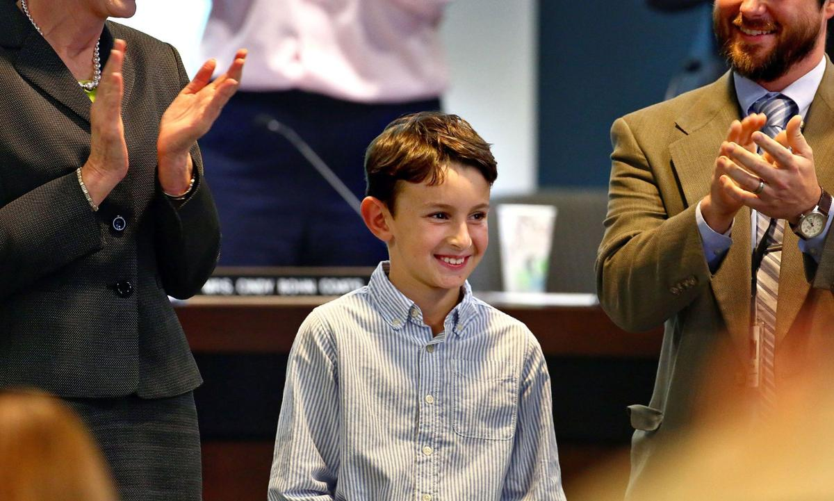 The power of change Fifth-grader's crusade against child hunger gains national recognition