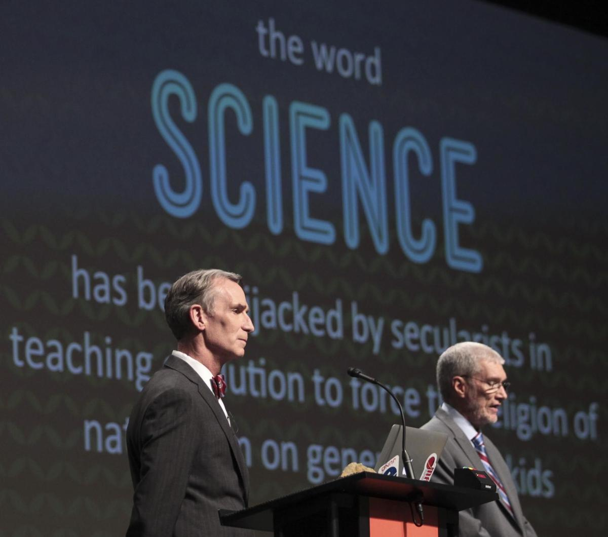 Far-reaching impact Nye admits underestimating evolution debate influence