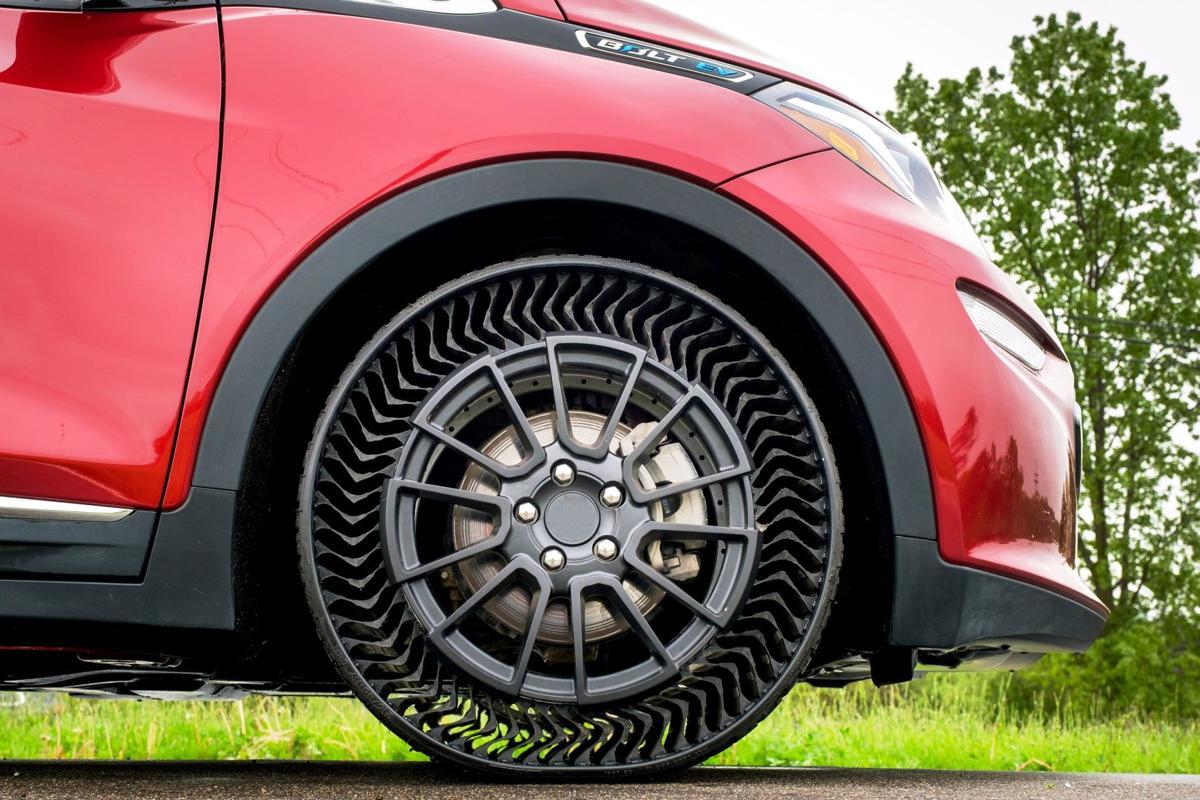 Michelin airless tire