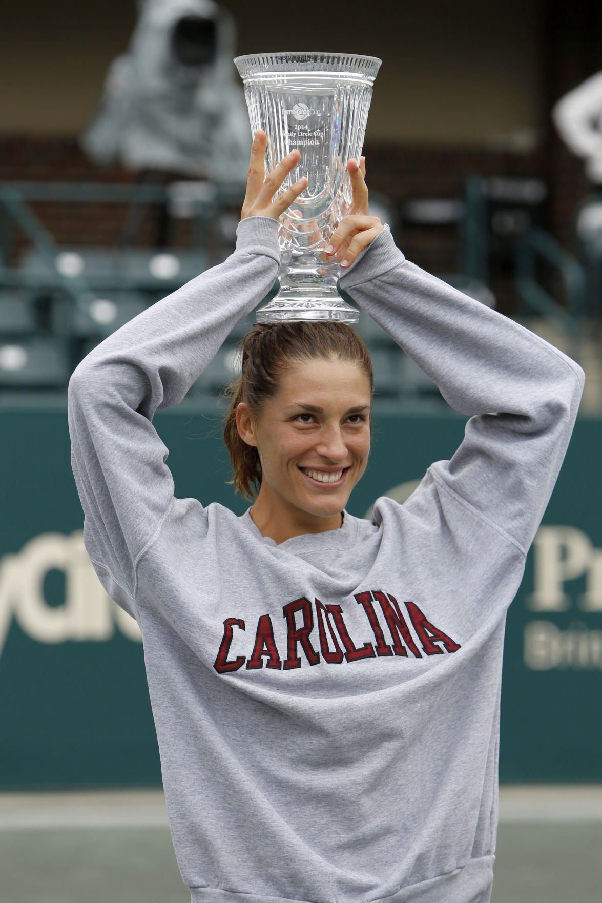 Petkovic feels at home in Charleston