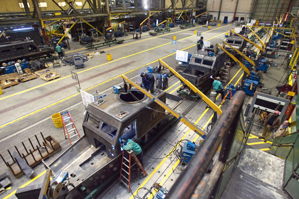 Force Protection vehicle plant jobs cut