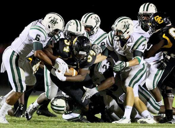 Goose Creek beats Dutch Fork, Berkeley tops Timberland and other high school football highlights