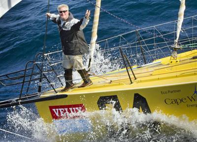 Van Liew faces Cape Horn, Southern Ocean