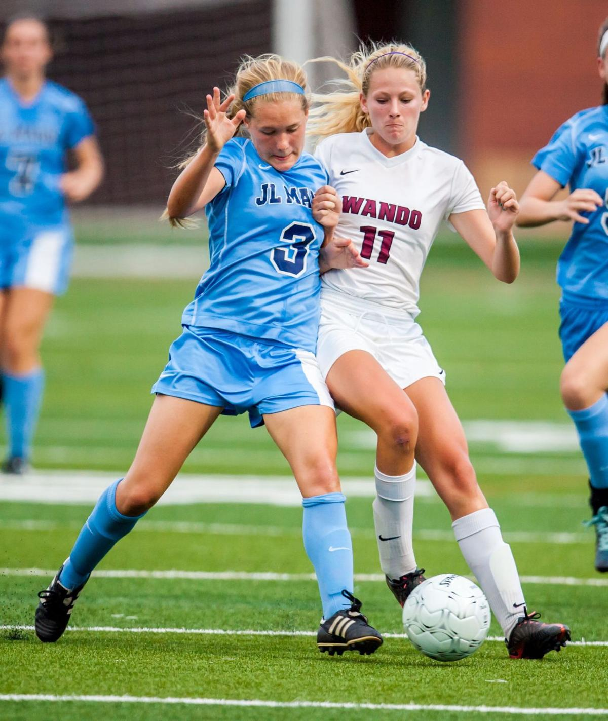 Wando repeats in AAAA girls soccer, 2-1, over top-ranked J.L. Mann