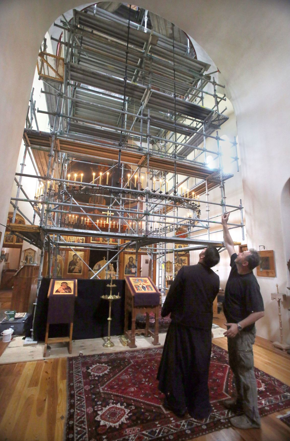 Story of faith New icons transform Mount Pleasant church