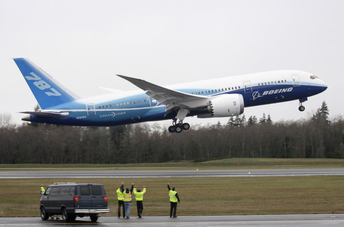 First local Dreamliner is ready for the world