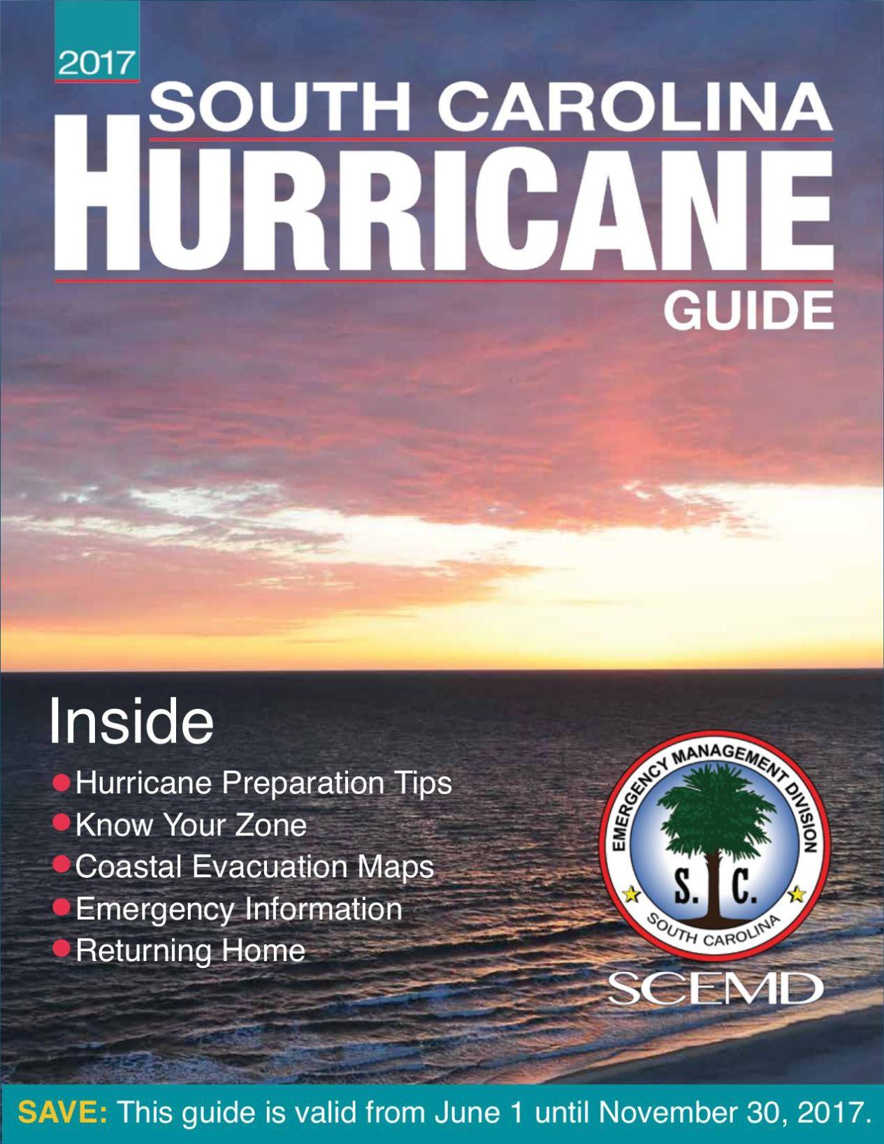 South Carolina Hurricane Guide Emergency preparedness checklist