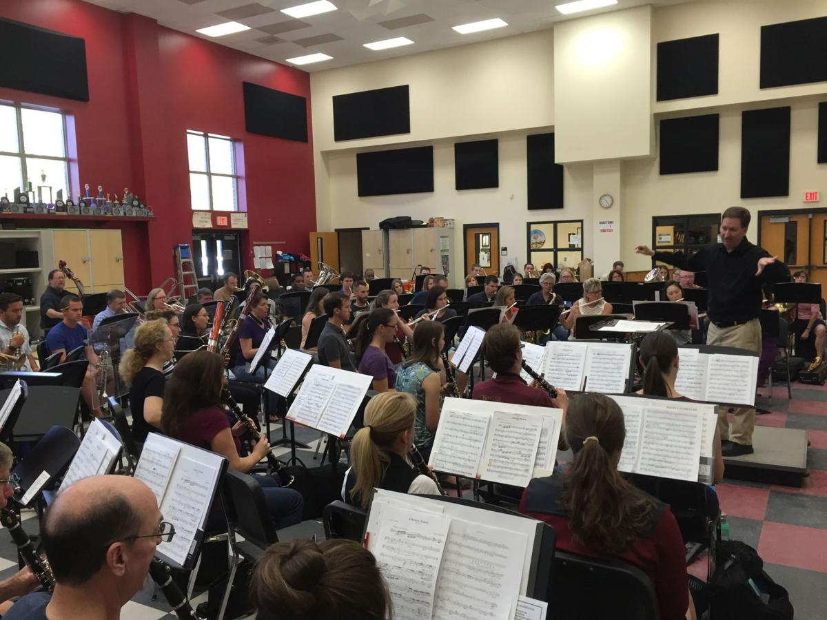 School bands take over Gaillard for conference, concerts