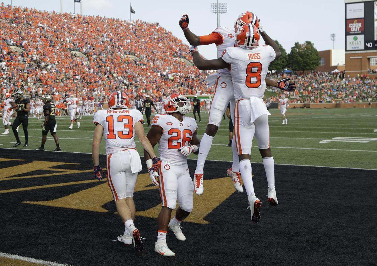 7 Takeaways From No 4 Clemson S 63 3 Rout Of Wake Forest
