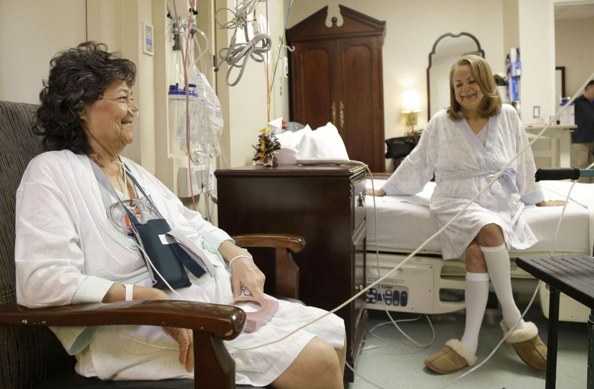 2 sisters get lung transplants from same donor