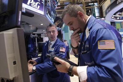 Sour earnings drop market