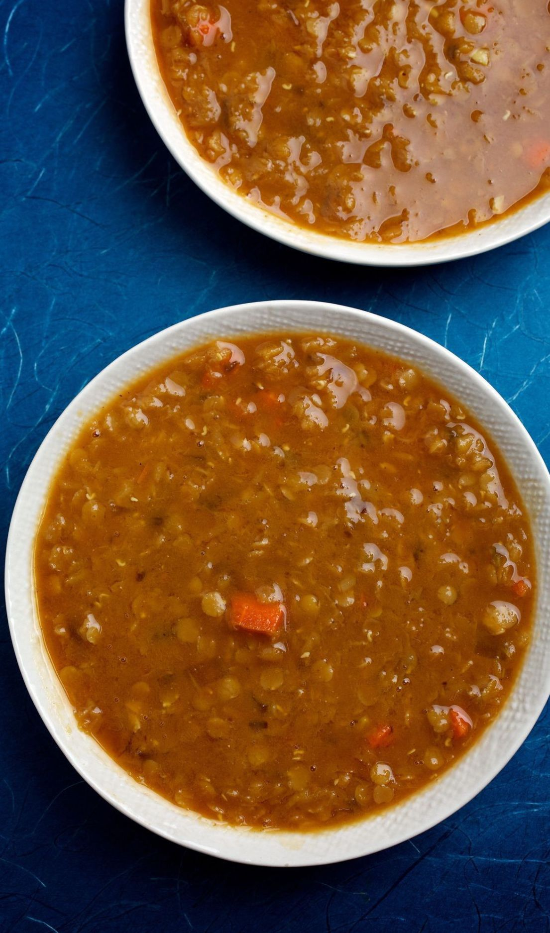 Lentil soup lemony
