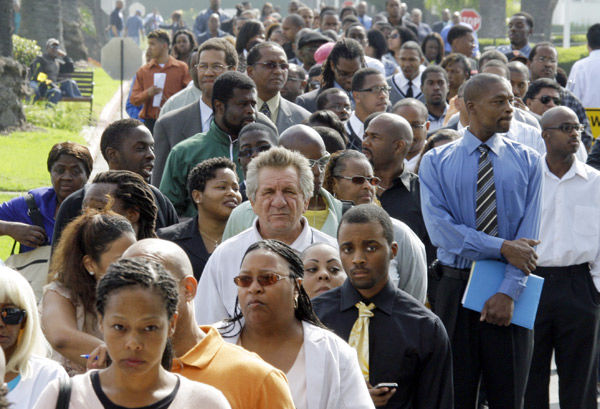 Jobs news conjures specter of recession
