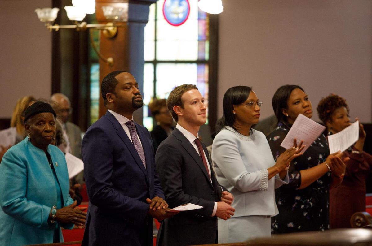 Mark Zuckerberg at Emanuel AME