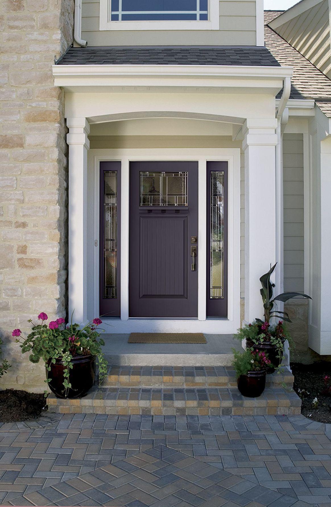 Doors that go pop: Rethinking entranceway color