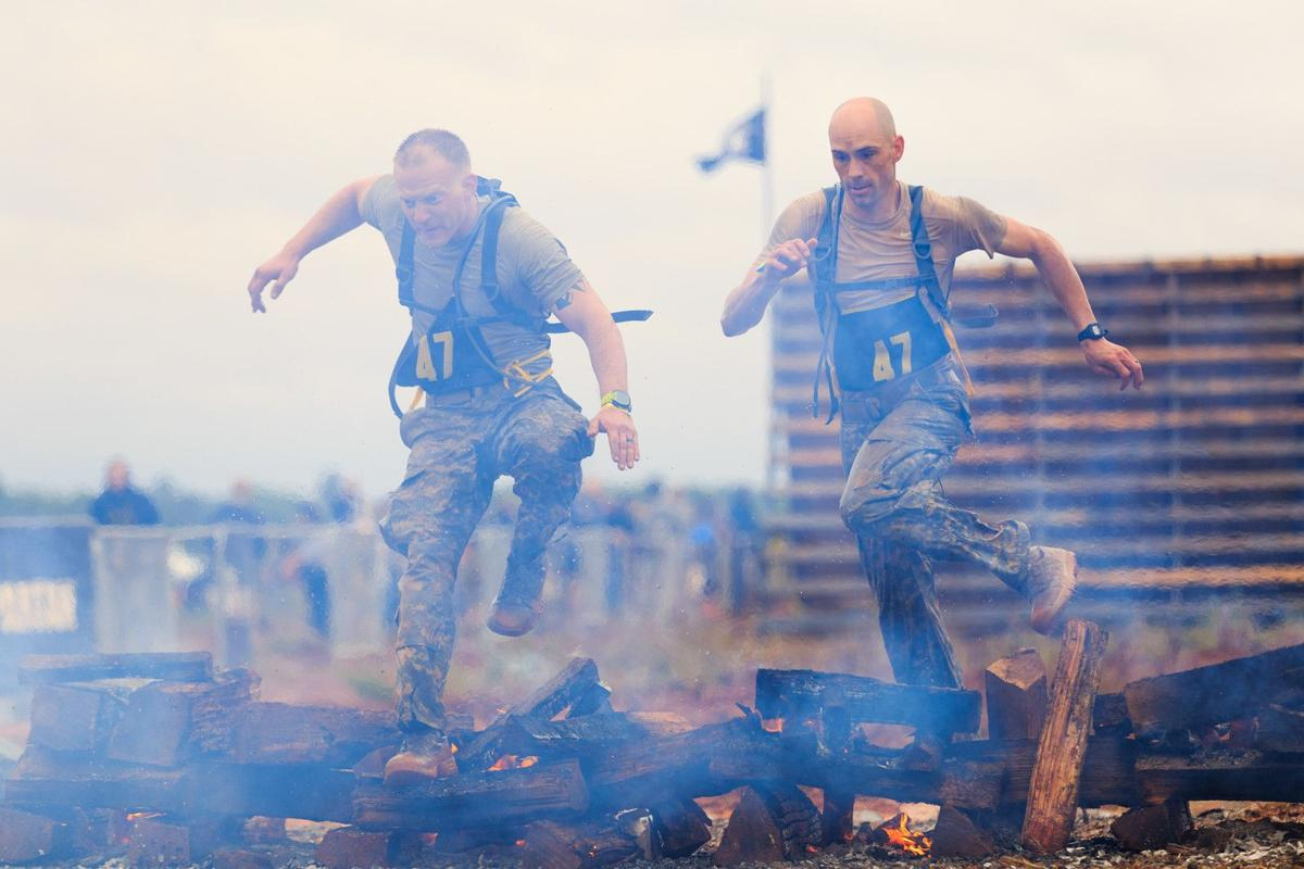 Citadel grad slogs to top in Ranger competition Two-man team bests 49 others at Fort Benning