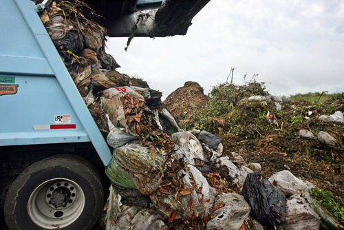 Council again defers vote on yard bags