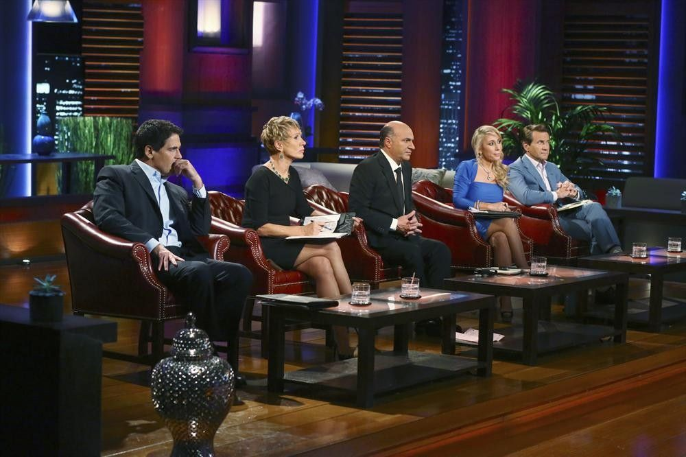 In the swim with moguls of TV's 'Shark Tank'