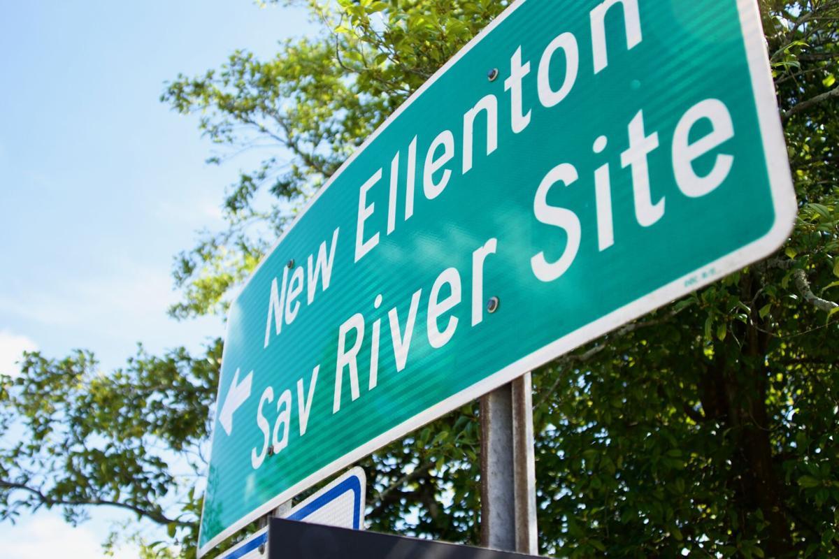 SRS Sign, New Ellenton, Downtown Aiken