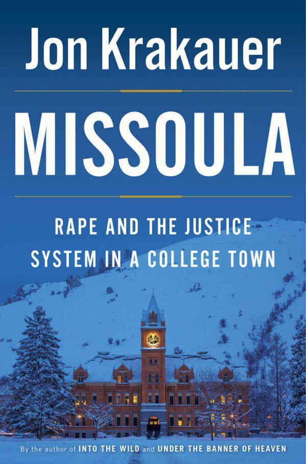 'Missoula' Jon Krakauer examines college rape epidemic