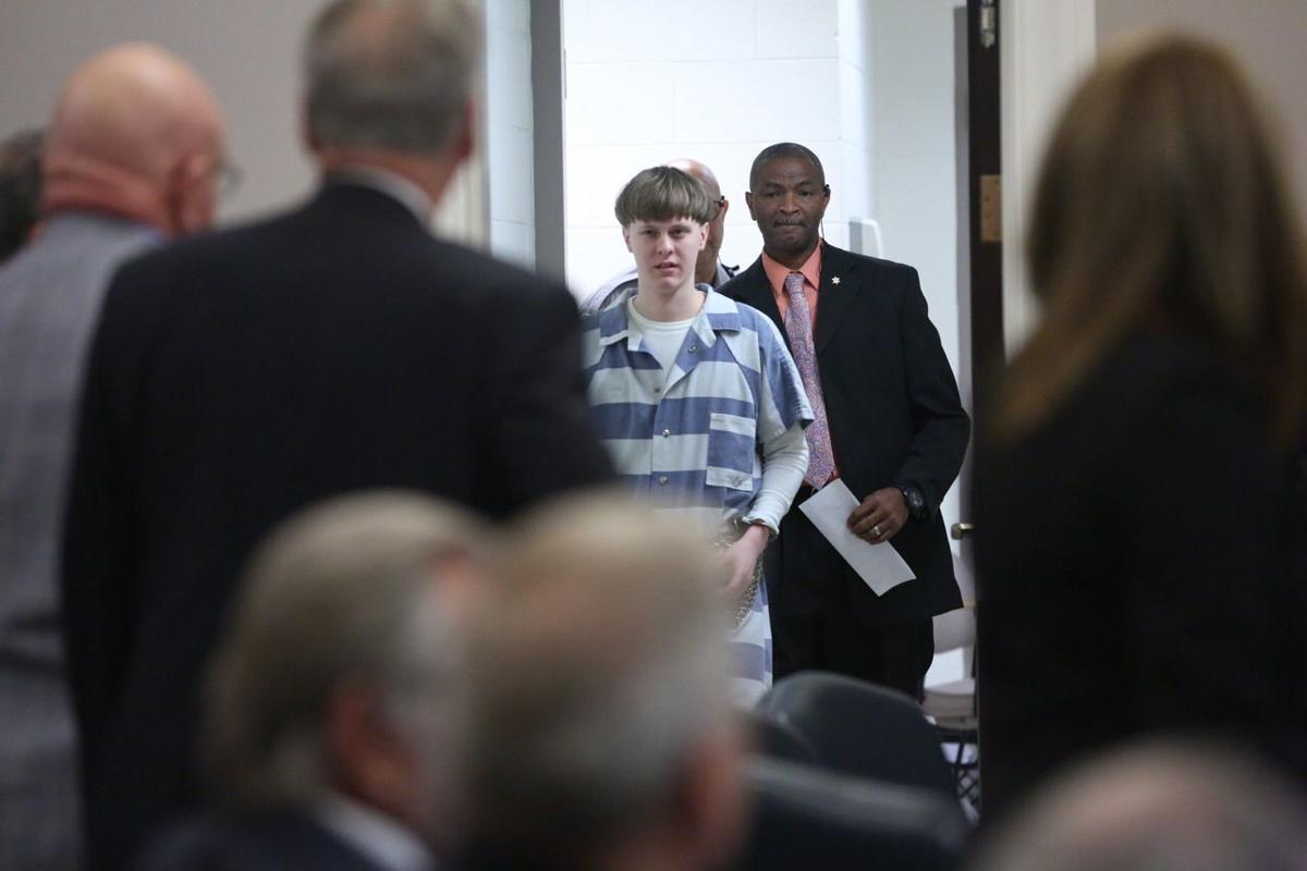 Dylann Roof hearing