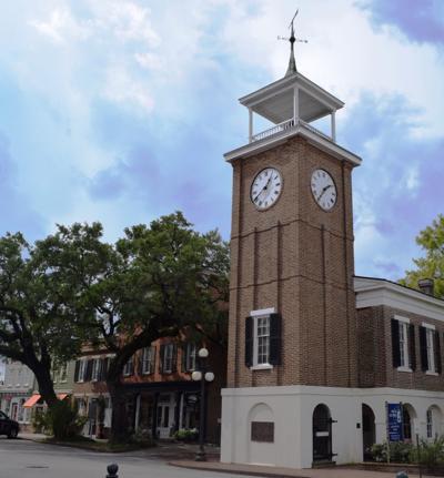 Georgetown clock tower