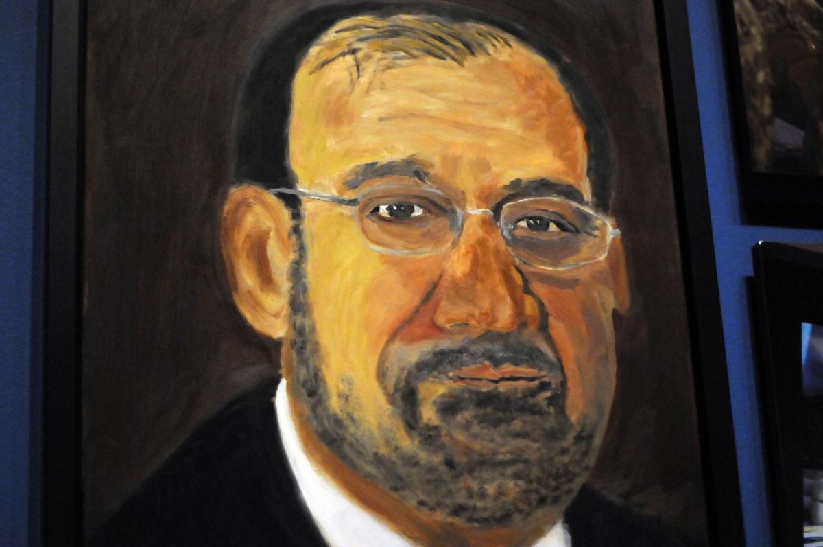 Bush the painter
