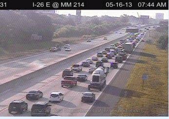 Wreck stalling eastbound traffic on I-26