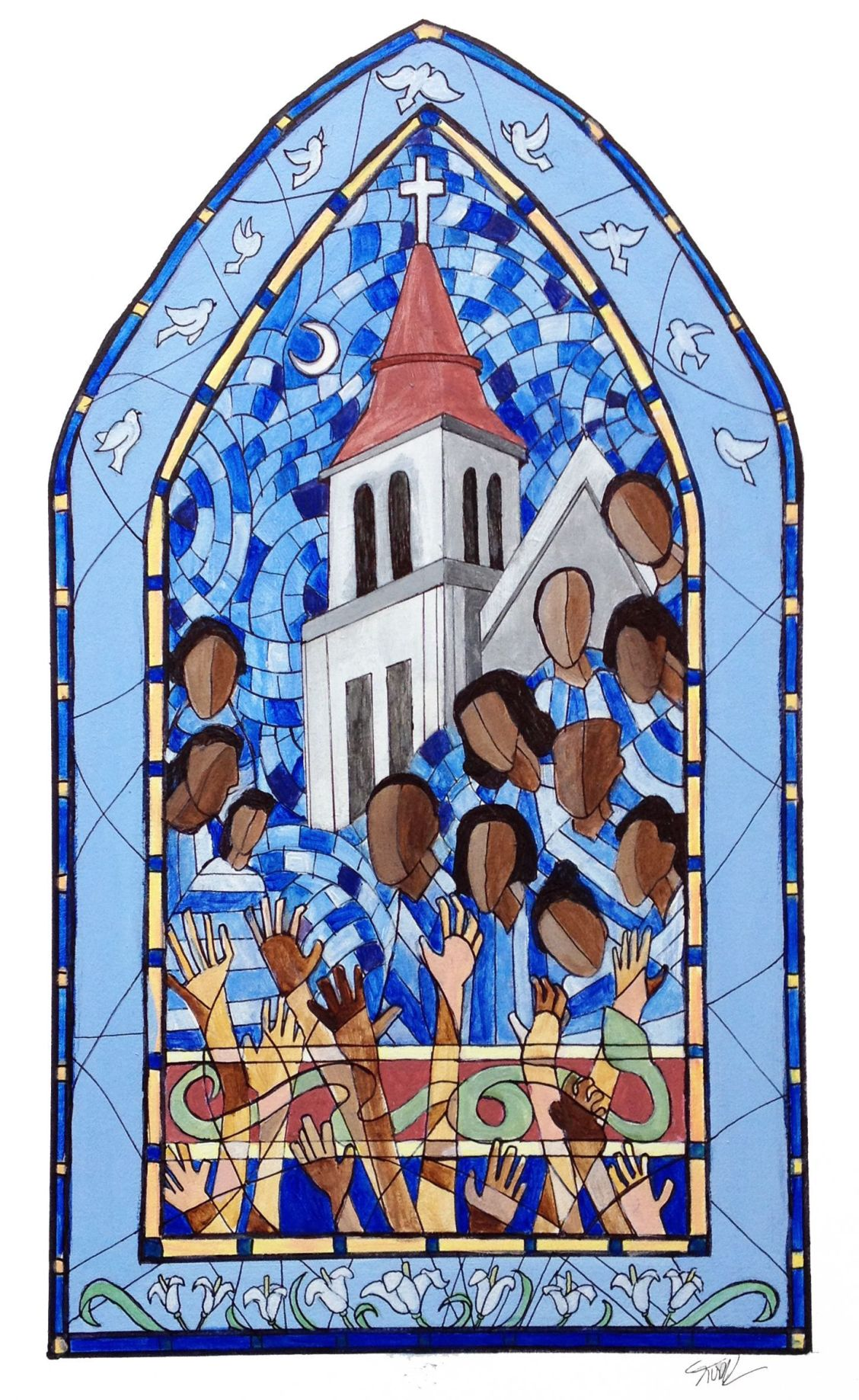 Grief & Hope Art created in wake of Emanuel tragedy Benefit concert to aid Emanuel AME Church Community United sets fundraiser for families