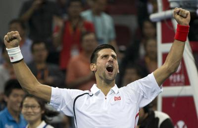 Djokovic, Azarenka claim titles in China