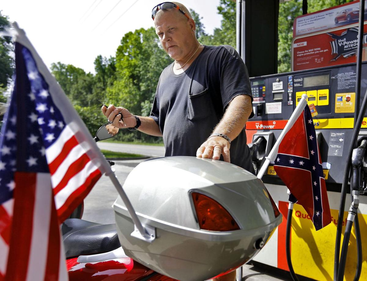 On front porches, some still divided on Confederate flag