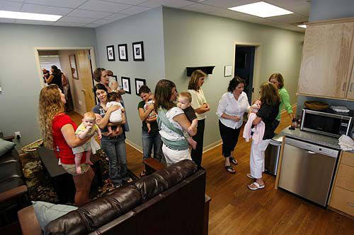 Birthing center delivers options
