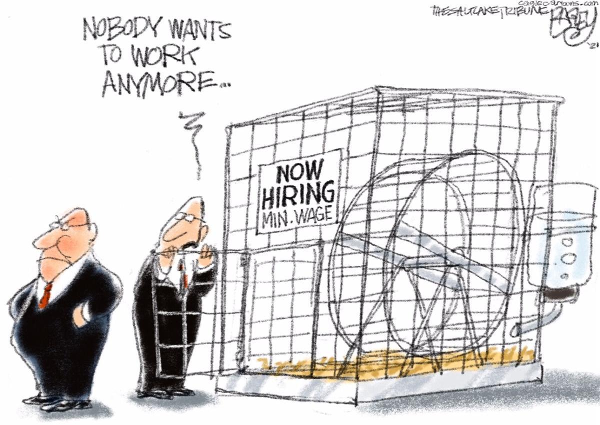 Work Cartoon 060921