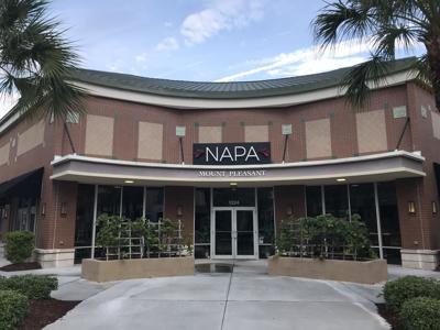 Former Napa restaurant in Mount Pleasant Towne Centre