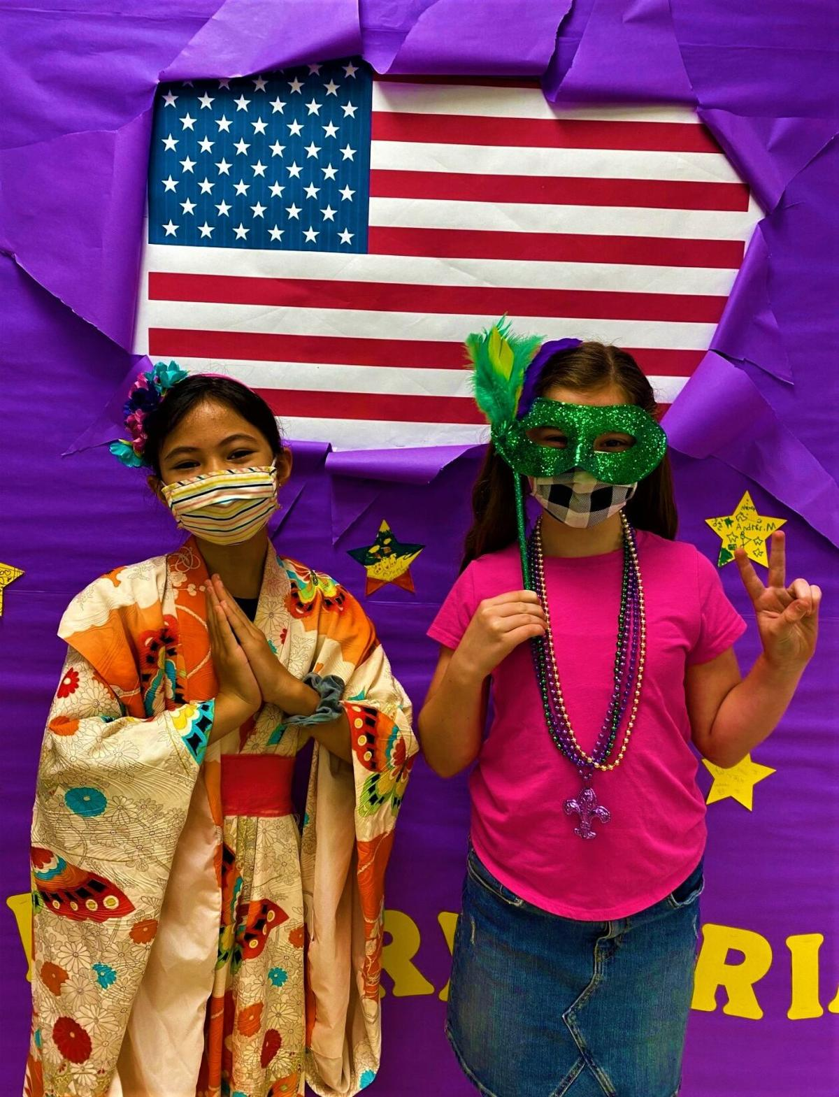 Marrington elementary celebrates the month of the military child