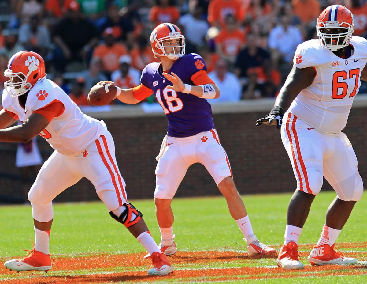 Setting the scene from steamy Athens: Cole Stoudt wearing a knee wrap