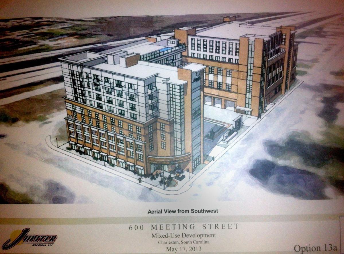 Nine-story hotel planned near Ravenel Bridge