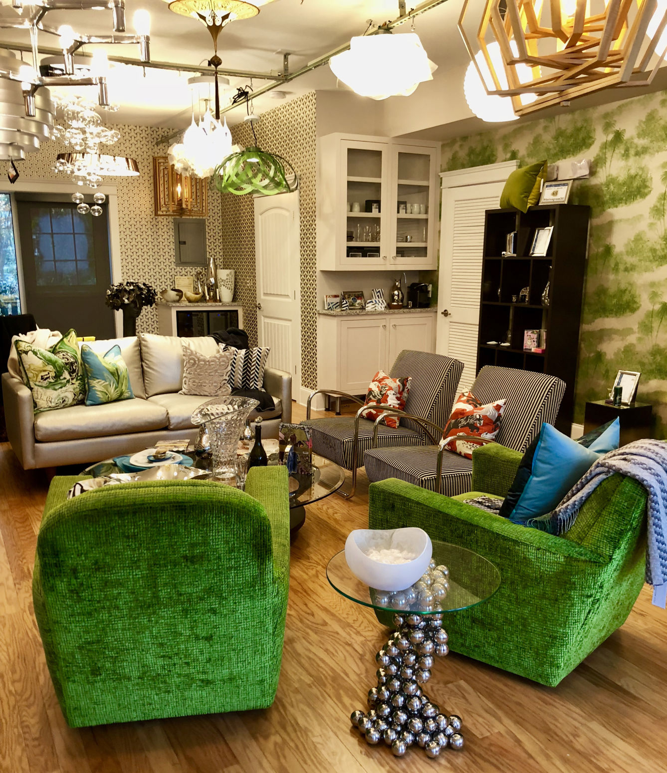 The Living Room In Mount Pleasant Is The Design Space For Karen Alagna.