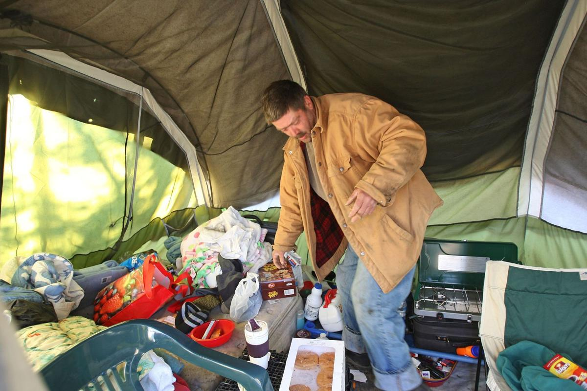 More Tent City residents move out