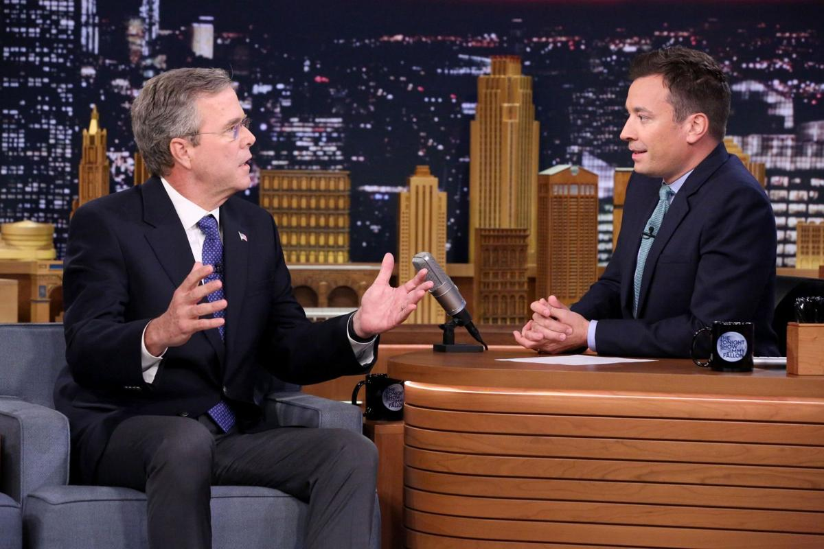 Jeb Bush 'slow jams' the news with Jimmy Fallon