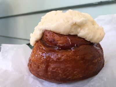 Brown's Court Bakery cinnamon roll