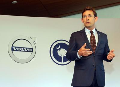 Haley, Volvo celebrate debut in S.C. Governor vows state will 'overdeliver' on promises that lured $500M plant