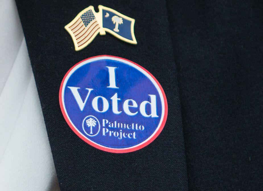Primary Election election voting sticker (copy) (copy) (copy) (copy)