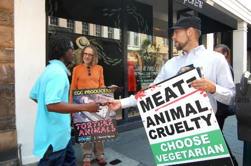 Animal rights group encourages vegan lifestyle
