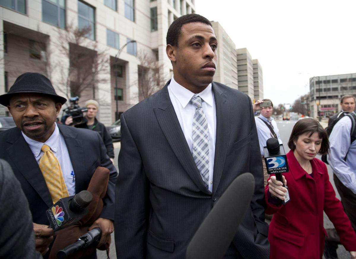 Domestic violence charges dropped against Panthers' Hardy
