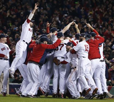 Boston wins Series Red Sox capture their third title in 10 years