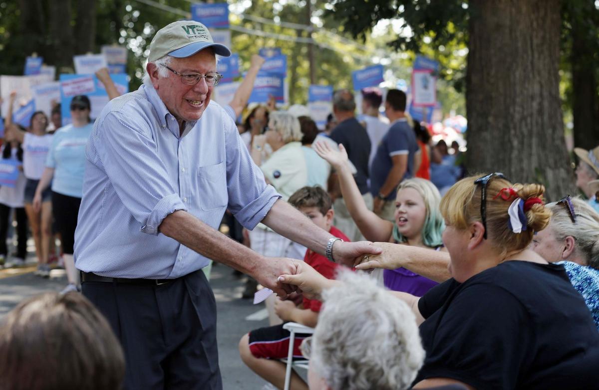 Sanders gets grumpy, but voters like him that way