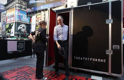 World's smallest theater opens doors to public